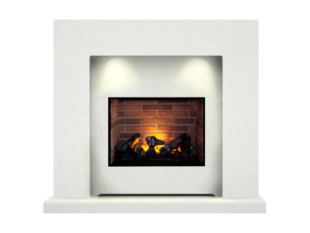 the-cuba-optimyst-fireplace-suite-in-sparkly-white-48-inch