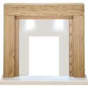 adam-beaumont-fireplace-in-oak-and-cream-with-downlights-48-inch