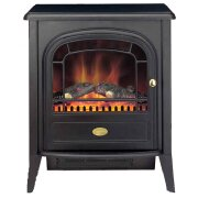 dimplex-club-electric-stove-in-black-with-angled-stove-pipe