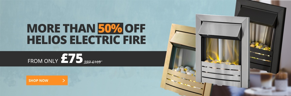 More Than 60% Off Helios Electric Fire