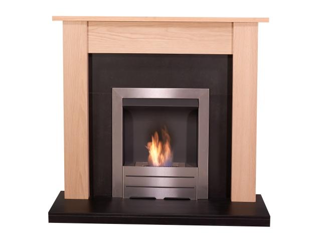 adam-southwold-fireplace-suite-oak-black-with-colorado-bio-ethanol-fire-in-brushed-steel-43-inch