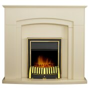 adam-falmouth-fireplace-in-cream-with-downlights-elan-electric-fire-in-brass-49-inch