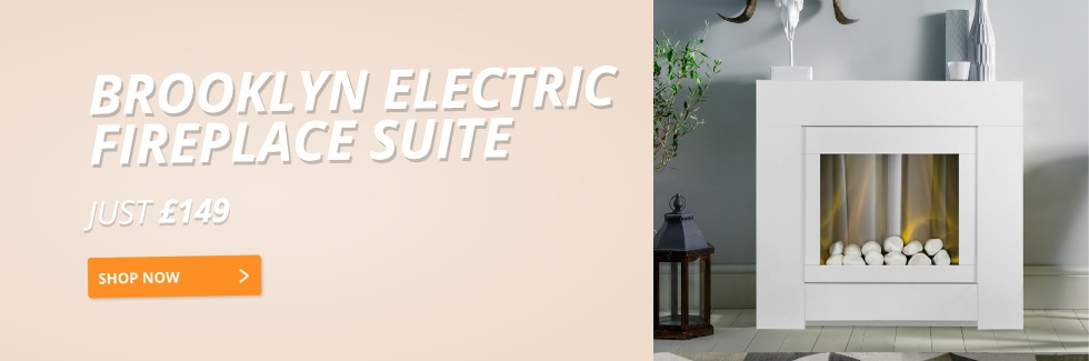 Brooklyn Electric Fireplace Suite