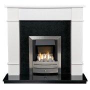 adam-linton-in-pure-white-granite-with-adam-hera-gas-fire-in-brushed-steel-48-inch