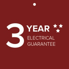 3 Years Electrical Guarantee