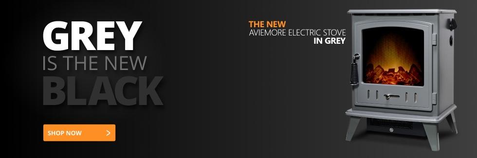 Adam Aviemore Electric Stove