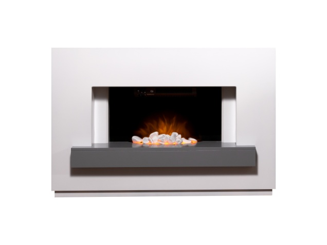 adam-sambro-fireplace-suite-in-pure-white-with-grey-shelf-46-inch