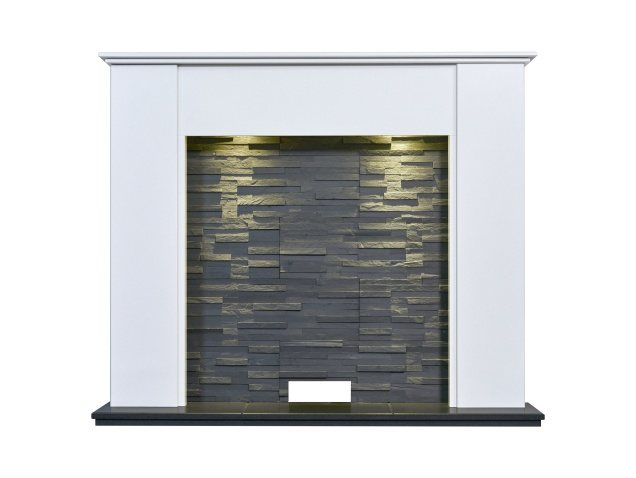 montara-crystal-white-stove-fireplace-with-downlights-54-inch