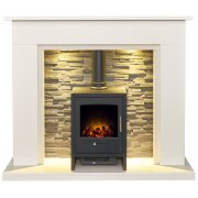 miramar-white-marble-stove-fireplace-with-downlights-bergen-electric-stove-in-charcoal-grey-54-inch