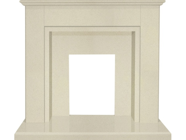 the-melbourne-marble-fireplace-in-beige-stone-with-downlights-48-inch