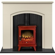 adam-madison-stove-suite-in-stone-effect-with-aviemore-electric-stove-in-red-enamel-48-inch