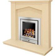 georgia-beige-marble-fireplace-with-montana-royale-chrome-gas-fire-48-inch