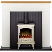 adam-innsbruck-stove-suite-in-pure-white-with-aviemore-electric-stove-in-cream-enamel-48-inch