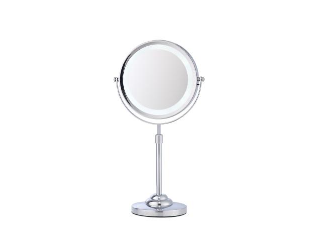 Specchio cosmetico ingranditore da tavolo con luce corby for Specchio da tavolo con luce ikea