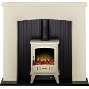 adam-derwent-stove-suite-in-cream-with-aviemore-electric-stove-in-cream-enamel-48-inch
