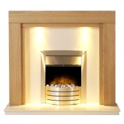 adam-fenwick-in-oak-white-marble-with-downlights-comet-electric-fire-in-brushed-steel-48-inch