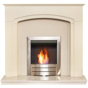 adam-tamworth-in-cream-beige-marble-with-downlights-colorado-bio-ethanol-fire-in-brushed-steel-48-inch