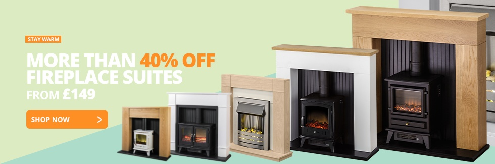 FIREPLACE SUITES 40% OFF