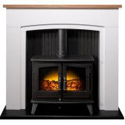 adam-siena-stove-suite-in-pure-white-with-woodhouse-electric-stove-in-black-48-inch