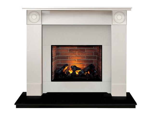 the-regent-optimyst-fireplace-suite-in-sparkly-white-black-granite-54-inch