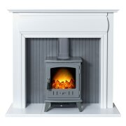 adam-florence-stove-suite-in-pure-white-with-aviemore-electric-stove-in-grey-enamel-48-inch