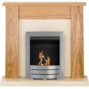 adam-new-england-fireplace-suite-in-oak-with-colorado-bio-ethanol-fire-in-brushed-steel-48-inch