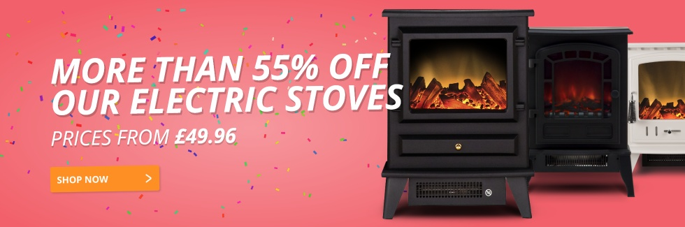 More Than 55% Off Electric Stoves