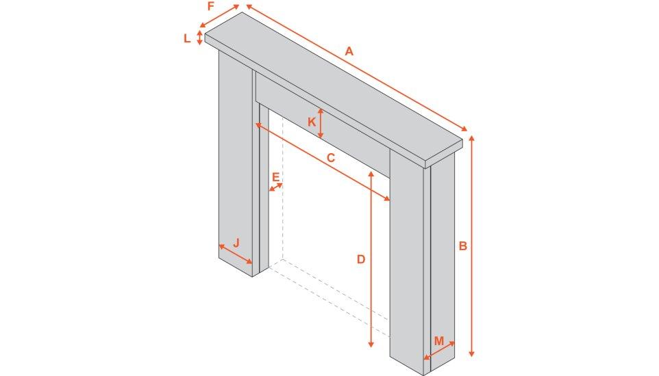 the-fenchurch-mantelpiece-in-acacia-by-carron-54-inch Diagram