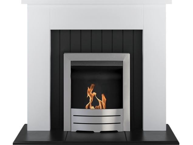 adam-chessington-fireplace-suite-in-white-with-colorado-bio-ethanol-fire-in-brushed-steel-48-inch