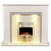 allnatt-white-grey-marble-fireplace-with-downlights-with-comet-brushed-steel-electric-fire-54-inch