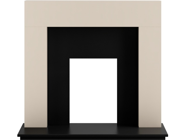 adam-miami-fireplace-in-cream-and-black-48-inch